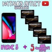 Win an iPhone 8 or 1 of 5 $100 Amazon Gift Card