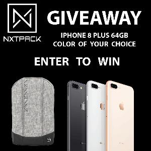 Win an iPhone 8 Plus 64GB in Color of Choice