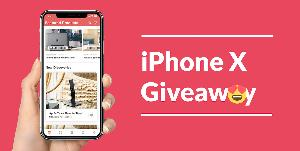Win an iPhone X 256GB Space Grey