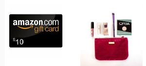 Win An Ipsy Glam Bag & a $10 Amazon Gift Card