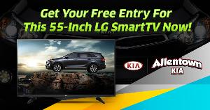 Win an LG 55 Inch Smart TV