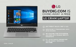 Win an LG Gram Laptop from BuyDig