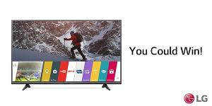 WIN: an LG Smart TV or Audio System!