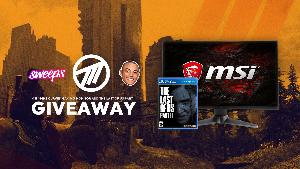 Win an MSI 144Hz Curved Gaming Monitor & The Last of Us Part II!!