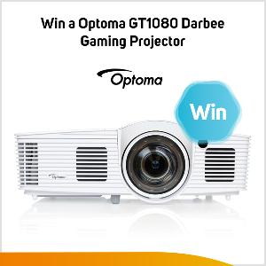Win an Optoma GT1080Darbee Gaming Projector