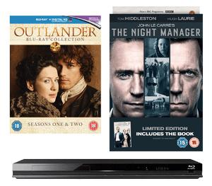 Win an Outlander and The Night Manager box sets and Blu-ray players!