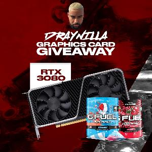 Win an RTX 3080 Graphics Card & 2 Gfuel tubs of your choice!!