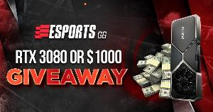 Win an RTX 3080 or $1,000!
