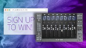 WIN an SSL UF8 Control Surface Worth $2199