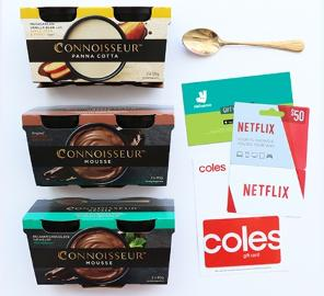 Win an ultimate night in with Connoisseur Desserts - (Australia Residents Only)