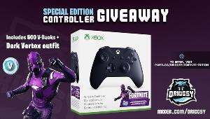 Win an Xbox Controller – Fortnite Special Edition!!