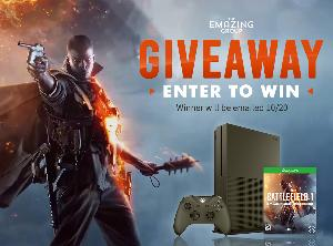 Win an Xbox One S Battlefield 1 Console Bundle