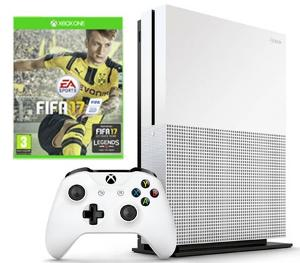 Win an Xbox One S console with FIFA 17 bundle !