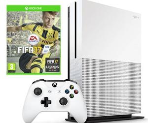 Win an Xbox One S console with FIFA 17 bundle