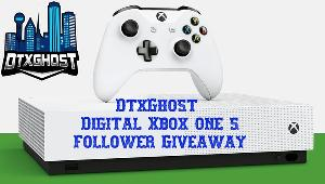Win an Xbox one s Digital console!!