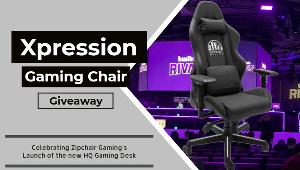 Win an Xpression Gaming Chair - Personalized Logo - $400 Value!