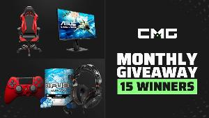 Win awesome prizes with the CMG monthly giveaway!