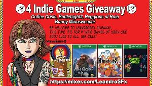 Win Battle High 2 A+; (Live Usa) Coffee Crisis; (Live Usa) Region of Ruin; (Region Free) Bunny Minesweepper Solo; (Region Free)