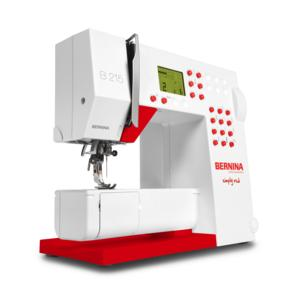 WIN: BERNINA 215 Simply Red Sewing Machine