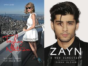 Win Biography Books of Taylor Swift and Zayn Malik!!!