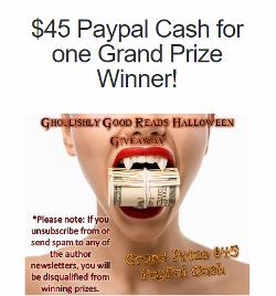 Win books, Amazon Gift Cards & Paypal Cash-30+ prizes!!