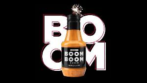 Win Boom Boom Sauce for you and someone special. Score a bottle for yourself and one for the person who makes your heart go boom boom!!
