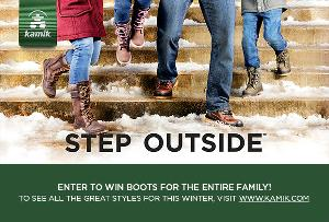 Win Boots For The Entire Family