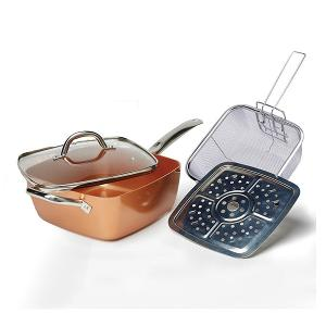 WIN: California Home Goods 4 piece Multi-functional Sauce Pan