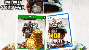 Win  Call of Duty Black Ops Cold War + 1100 Cod Points- 2 winners!!