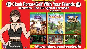 Win Clash Force+Golf With Your Friends+Demetrios Games (XBox One)!!