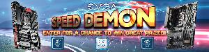 Win Computer Components in the Win Computer Components in the EVGA Speed Demon Social Media Event