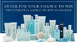 WIN CRABTREE & EVELYN ULTIMATE LA SOURCE SPA RITUALS PACKAGE