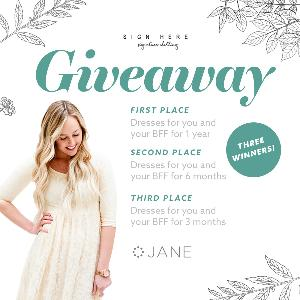 Win Dresses for you and your BFF for 1 Year
