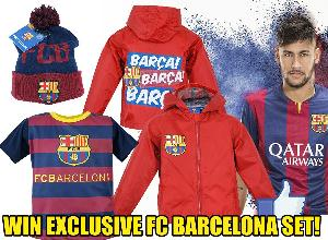 Win exclusive FC Barcelona set