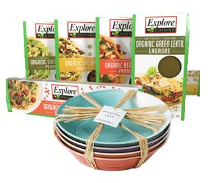 Win Explore Pasta sets!