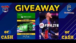 Win FIFA21 OR 12k FifaPoints OR CASH EQUIVALENT!