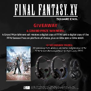 Win Final Fantasy XV with Season PAss and a Turtle Beach Headset - 14 Winners Total