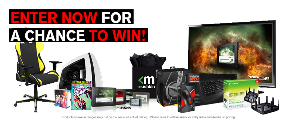 WIN: Flat Screen TV, Blu-Ray Player, Gaming Chair and more