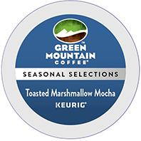 Win Four full size boxes of Toasted Marshmallow Mocha Keurig Kcup coffee