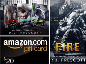 Win four signed paperbacks of the full series together with a $20 Amazon gift card!!