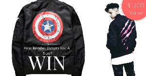 WIN FREE BOMBER JACKETS FOR A YEAR