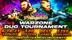 Win Free Duo Entry in Warzone KillRace Tournament!