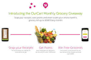 Win Free Groceries with OurCart