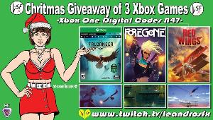 "Win :Game ""The Falconner"" (Xbox One); Game ""Foregone"" (Xbox One) & Game ""Red Wings"" (Xbox One)!!"