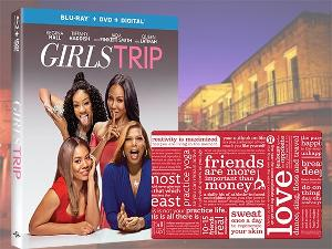 Win GIRLS TRIP on Blu-ray Combo Pack + a $250 Lululemon Gift Card