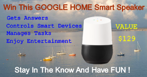 Win Google Home the Smart speaker