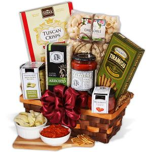 WIN: GourmetGiftBaskets.com Table In Tuscany Italian Gift Basket