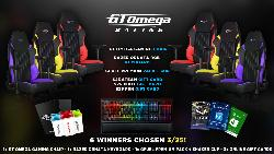 WIN GT OMEGA GAMING CHAIR, RAZER ORNATA OR GIFT CARD