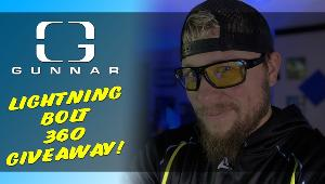 Win Gunnar Optiks - Lightning Bolt 360!