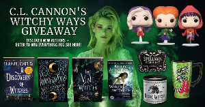 Win hardback copies of A Discovery of Witches by Deborah Harkness, Winterwood by Shea Ernshaw, The Vine Witch by Luanne G. Smith, a paperback of Waking the Witch by Kelley Armstrong, plus all three Hocus Pocus Sanderson Sisters Flying Funko Pops...+more!